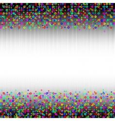 abstract border vector image