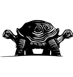 Double Turtle vector image vector image