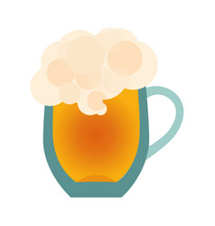 beer glass icon isolated on white background vector image