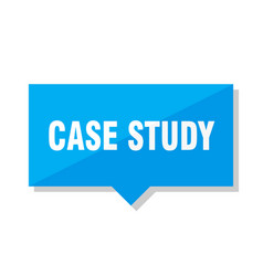 Case study price tag vector