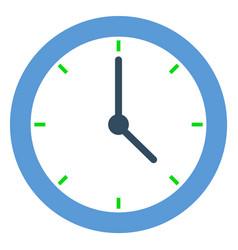 clock time management minimalistic watch deadline vector image
