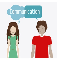 Communicate design vector
