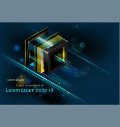Deep learning big data server digital controls vector