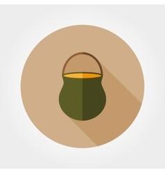 Camp pot icon vector image