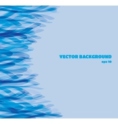 Abstract background in blue shades eps10 vector image vector image