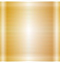 gold net texture vector image vector image