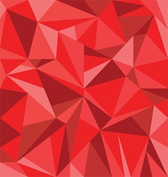 Abstract Red Triangle Geometrical Background vector