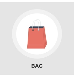 Bag store single icon vector image