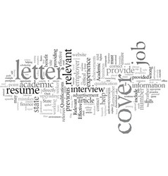 Effective resumes vector