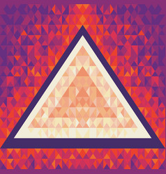 Geometric background pattern design - music vector