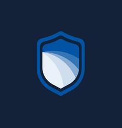 icon symbols protect shield logo design template vector image
