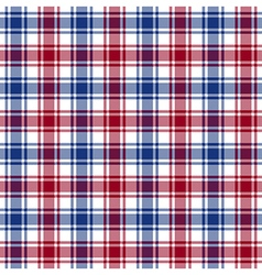 Red blue white check texture seamless pattern vector
