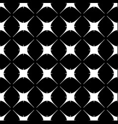 star geometric seamless pattern 802 vector image
