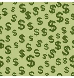 US Dollar pattern vector image