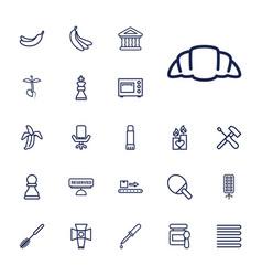 22 nobody icons vector