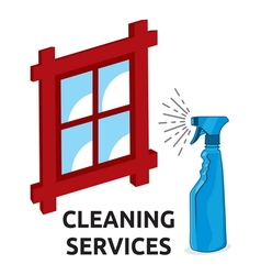 cleaning services1 vector image
