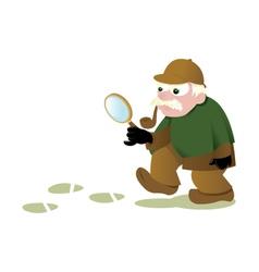 Funny Sherlock Holmes vector