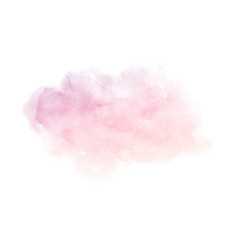 hand painted pink gradient watercolor texture vector image