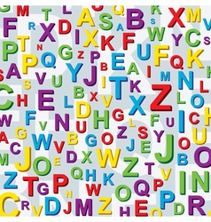 Letter background vector