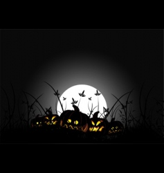 Halloween night vector image vector image