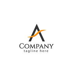 A company logo template design vector