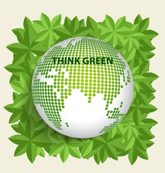 Green Eco Earth vector image
