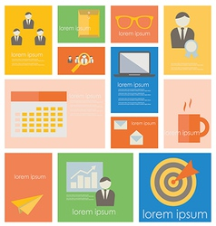 Icon BusinessOffice Life vector image