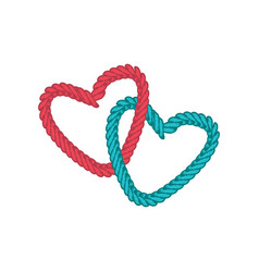 Love lasso rope vector