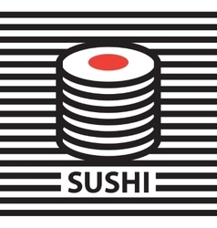 Picture of sushi vector