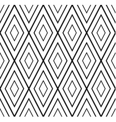 seamless rhombus geometric pattern vector image