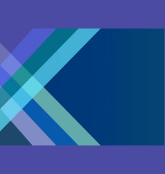 abstract dark blue background with color strips vector image vector image