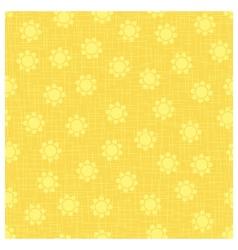 Organic flower pattern vector