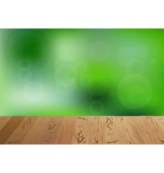 brown wooden floor summer vector image