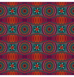 Abstract ornamental ethnic seamless pattern vector
