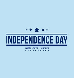 background for independence day style vector image