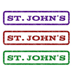 Stjohn s watermark stamp vector