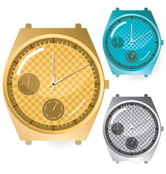 watches set vector image