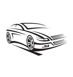 a car vector image vector image