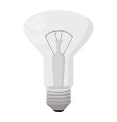 Decorator bulb icon cartoon style vector image vector image