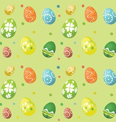 seamless tile easter egg background 2902 vector image vector image