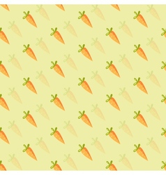 background of orange carrots vector image