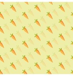 background orange carrots vector image