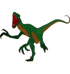 Deinonychus vector image
