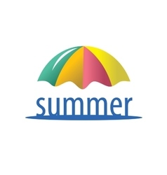 Logo summer vector