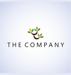 Tree logo ideas design vector