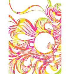 Summer fluids vector image vector image