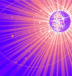 abstract shining vector image
