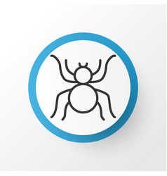 arachnid icon symbol premium quality isolated vector image vector image