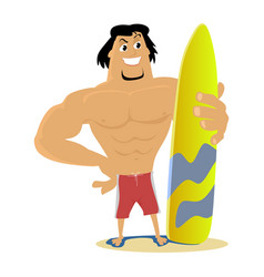 surfing water extreme sports isolated design vector image vector image