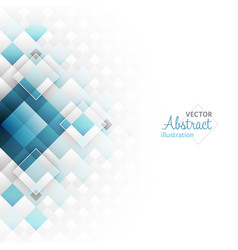 Abstract geometric futuristic background with vector